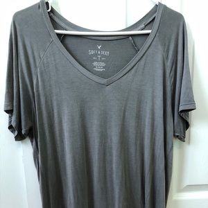 AEO soft and sexy v neck tee